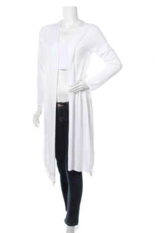 Γυναικεία ζακέτα Stefanel, Μέγεθος M, Χρώμα Λευκό, Βαμβάκι, μοντάλ, Τιμή 44,17€