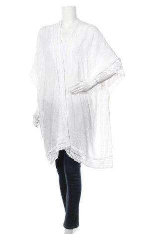 Дамска жилетка Sussan, Размер L, Цвят Бял, Вискоза, Цена 26,93лв.
