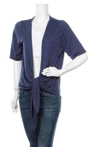 Γυναικεία ζακέτα Suzanne Grae, Μέγεθος XL, Χρώμα Μπλέ, Πολυεστέρας, βισκόζη, Τιμή 16,89€