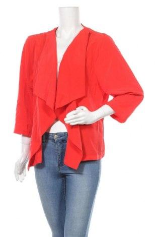 Дамска жилетка Suzanne Grae, Размер XL, Цвят Червен, Цена 7,09лв.