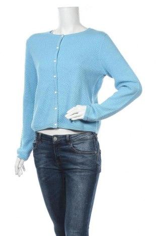 Γυναικεία ζακέτα Tom Tailor, Μέγεθος M, Χρώμα Μπλέ, Βαμβάκι, Τιμή 22,81€