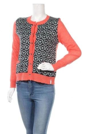 Дамска жилетка Woolrich, Размер S, Цвят Оранжев, 37% акрил, 33% полиамид, 20% вълна, 10% мохер, Цена 266,00лв.