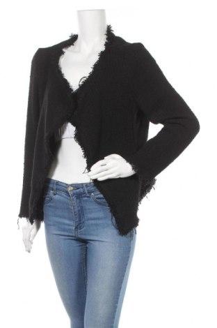 Дамска жилетка Zara, Размер L, Цвят Черен, Цена 15,96лв.