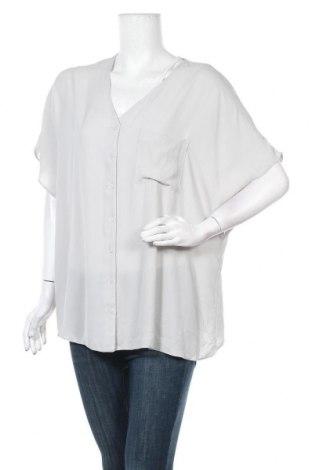 Γυναικείο πουκάμισο ASOS, Μέγεθος XL, Χρώμα Γκρί, Πολυεστέρας, Τιμή 17,54€