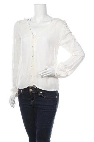 Γυναικείο πουκάμισο About You, Μέγεθος S, Χρώμα Εκρού, Βισκόζη, Τιμή 16,12€