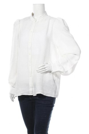 Γυναικείο πουκάμισο Aware by Vero Moda, Μέγεθος XL, Χρώμα Λευκό, Πολυεστέρας, Τιμή 14,76€