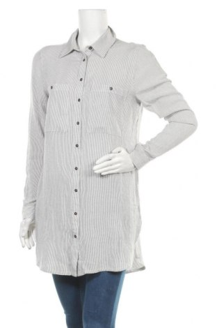 Γυναικείο πουκάμισο Buffalo, Μέγεθος M, Χρώμα Γκρί, Βισκόζη, Τιμή 16,45€