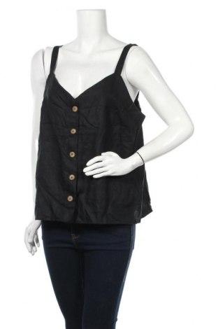 Γυναικείο πουκάμισο Country Road, Μέγεθος XL, Χρώμα Μαύρο, Λινό, Τιμή 11,69€