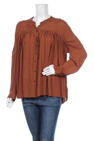 Γυναικείο πουκάμισο Country Road, Μέγεθος XL, Χρώμα Καφέ, Βισκόζη, Τιμή 16,46€