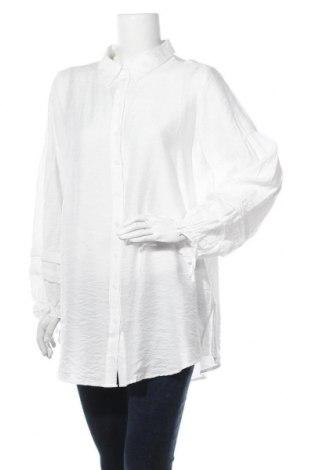 Γυναικείο πουκάμισο Cream, Μέγεθος M, Χρώμα Λευκό, 70% βισκόζη, 30% πολυαμίδη, Τιμή 27,60€
