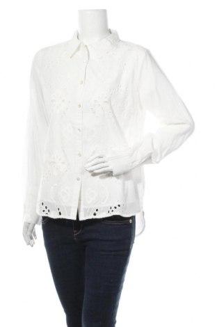 Γυναικείο πουκάμισο Cream, Μέγεθος M, Χρώμα Λευκό, Βαμβάκι, Τιμή 20,29€