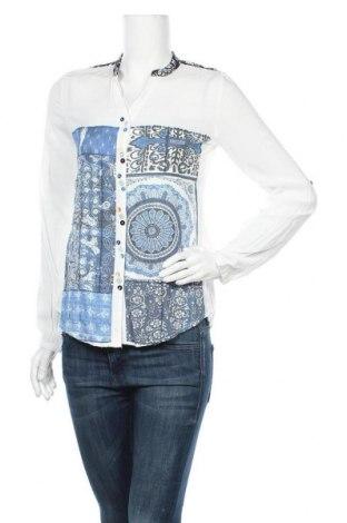 Dámská košile  Desigual, Velikost S, Barva Bílá, 92% viskóza, 8% polyester, Cena  1153,00Kč