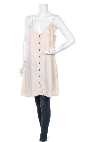 Γυναικείο πουκάμισο Dotti, Μέγεθος XL, Χρώμα  Μπέζ, 70% βισκόζη, 30% λινό, Τιμή 29,88€