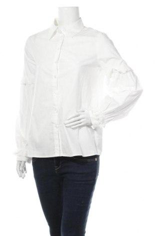 Γυναικείο πουκάμισο Fashion Union, Μέγεθος M, Χρώμα Λευκό, Βαμβάκι, Τιμή 13,39€