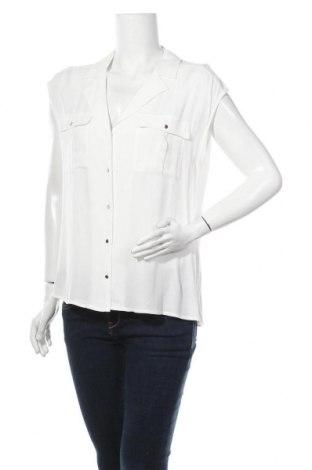 Γυναικείο πουκάμισο Forever New, Μέγεθος M, Χρώμα Λευκό, Βισκόζη, Τιμή 9,38€
