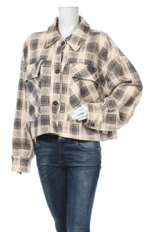 Γυναικείο μπουφάν Free People, Μέγεθος L, Χρώμα Πολύχρωμο, 78% βαμβάκι, 12% βισκόζη, 10% πολυεστέρας, Τιμή 66,25€