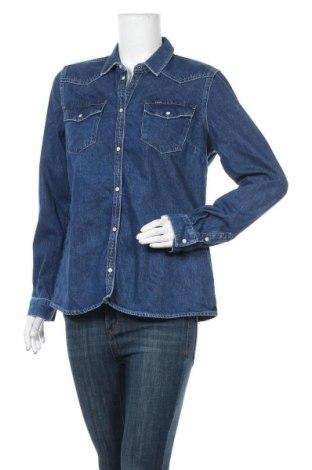 Γυναικείο πουκάμισο Garcia, Μέγεθος L, Χρώμα Μπλέ, Βαμβάκι, Τιμή 22,95€