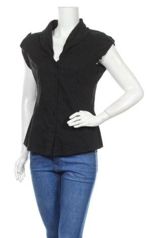 Γυναικείο πουκάμισο Heine, Μέγεθος M, Χρώμα Μαύρο, Τιμή 4,68€