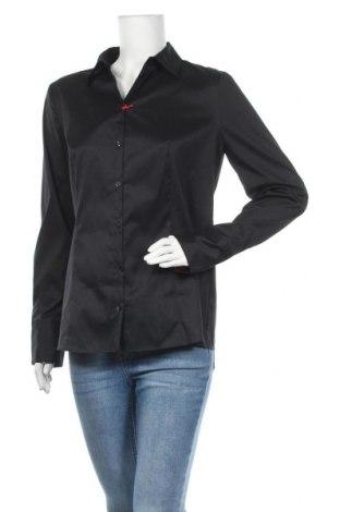 Дамска риза Hugo Boss, Размер L, Цвят Черен, Цена 171,75лв.