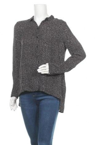 Γυναικείο πουκάμισο In Wear, Μέγεθος S, Χρώμα Μαύρο, Βισκόζη, Τιμή 17,32€