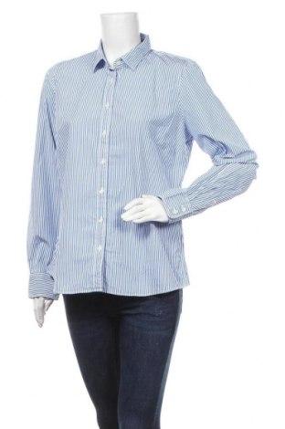 Γυναικείο πουκάμισο J.Crew, Μέγεθος L, Χρώμα Μπλέ, Βαμβάκι, Τιμή 22,27€