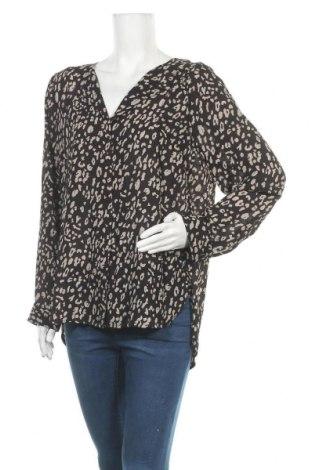 Γυναικείο πουκάμισο Jeanswest, Μέγεθος XL, Χρώμα Μαύρο, Πολυεστέρας, Τιμή 18,19€
