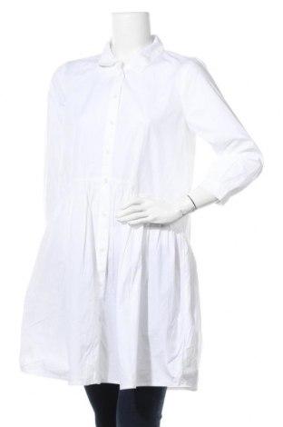 Дамска риза Kaffe, Размер M, Цвят Бял, Памук, Цена 55,20лв.