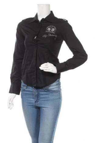Γυναικείο πουκάμισο La Martina, Μέγεθος M, Χρώμα Μαύρο, Τιμή 28,45€