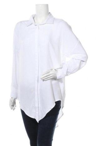 Γυναικείο πουκάμισο Lascana, Μέγεθος L, Χρώμα Λευκό, Βισκόζη, Τιμή 26,68€