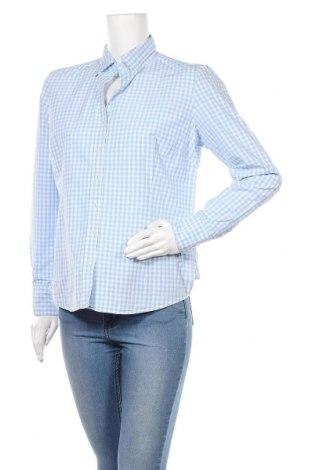 Γυναικείο πουκάμισο Lawrence Grey, Μέγεθος L, Χρώμα Μπλέ, Βαμβάκι, Τιμή 21,34€