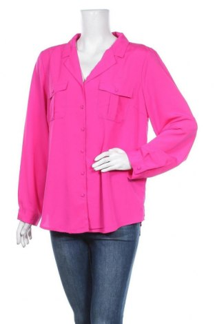 Γυναικείο πουκάμισο Liz Jordan, Μέγεθος XL, Χρώμα Ρόζ , Πολυεστέρας, Τιμή 11,40€