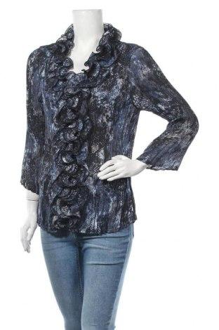 Γυναικείο πουκάμισο Liz Jordan, Μέγεθος XL, Χρώμα Πολύχρωμο, Πολυεστέρας, Τιμή 6,75€