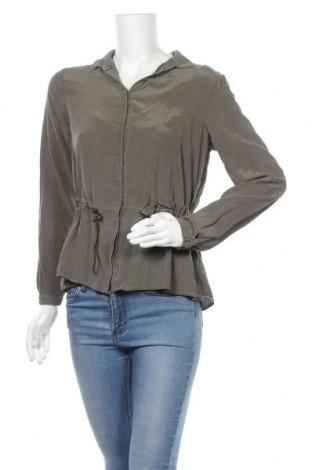 Γυναικείο πουκάμισο Madeleine, Μέγεθος M, Χρώμα Πράσινο, Τιμή 21,80€