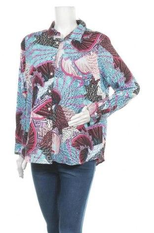 Γυναικείο πουκάμισο Maggie T, Μέγεθος XL, Χρώμα Πολύχρωμο, 97% βαμβάκι, 3% ελαστάνη, Τιμή 11,11€