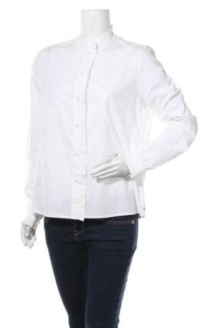 Γυναικείο πουκάμισο Maison Scotch, Μέγεθος L, Χρώμα Λευκό, Βαμβάκι, Τιμή 48,72€