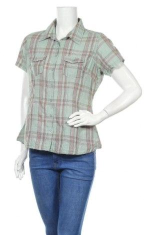 Γυναικείο πουκάμισο Manguun, Μέγεθος L, Χρώμα Πράσινο, Βαμβάκι, Τιμή 11,72€