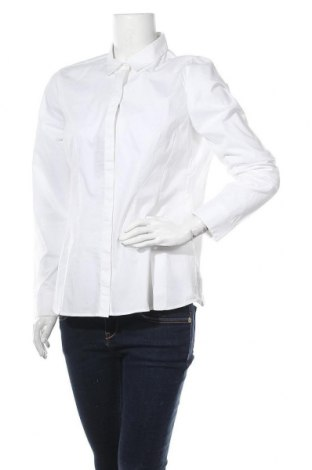 Γυναικείο πουκάμισο Marc O'Polo, Μέγεθος L, Χρώμα Λευκό, 97% βαμβάκι, 3% ελαστάνη, Τιμή 40,98€