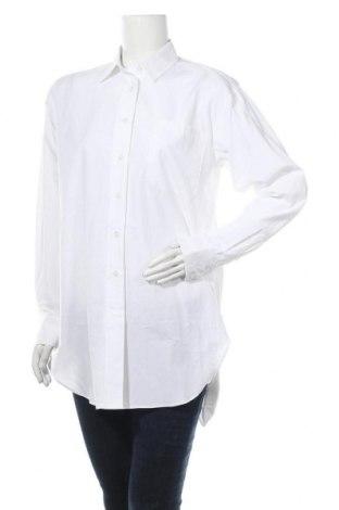 Γυναικείο πουκάμισο Mbym, Μέγεθος M, Χρώμα Λευκό, Βαμβάκι, Τιμή 24,32€