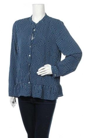 Γυναικείο πουκάμισο Mix, Μέγεθος XL, Χρώμα Μπλέ, Πολυεστέρας, ελαστάνη, Τιμή 14,29€