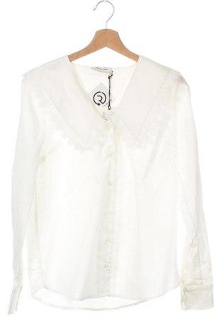 Γυναικείο πουκάμισο Modstrom, Μέγεθος XS, Χρώμα Λευκό, Βαμβάκι, Τιμή 32,51€
