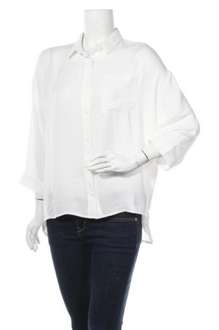 Γυναικείο πουκάμισο Modstrom, Μέγεθος M, Χρώμα Λευκό, Πολυεστέρας, Τιμή 34,64€
