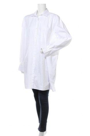 Γυναικείο πουκάμισο Nly Trend, Μέγεθος M, Χρώμα Λευκό, Βαμβάκι, Τιμή 14,72€