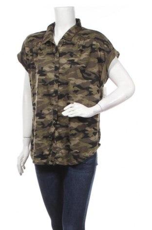 Γυναικείο πουκάμισο No Boundaries, Μέγεθος XL, Χρώμα Πράσινο, Πολυεστέρας, Τιμή 17,90€