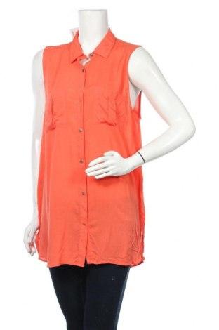 Γυναικείο πουκάμισο Now, Μέγεθος XL, Χρώμα Ρόζ , Βισκόζη, Τιμή 11,04€
