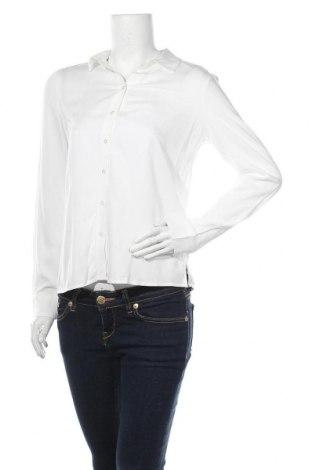 Γυναικείο πουκάμισο Object, Μέγεθος XS, Χρώμα Λευκό, Βισκόζη, Τιμή 16,12€