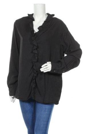 Γυναικείο πουκάμισο Replay, Μέγεθος XL, Χρώμα Γκρί, Lyocell, Τιμή 50,16€
