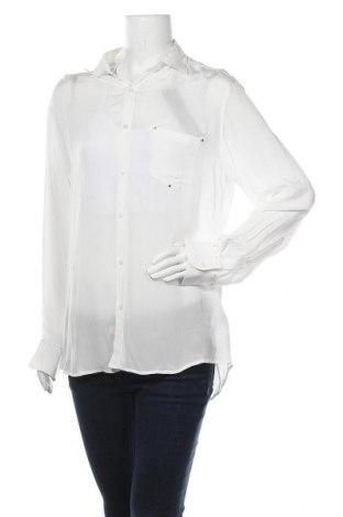 Γυναικείο πουκάμισο Replay, Μέγεθος M, Χρώμα Λευκό, Βισκόζη, Τιμή 48,54€