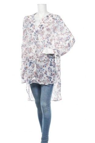 Γυναικείο πουκάμισο Rivers, Μέγεθος XL, Χρώμα Λευκό, Πολυεστέρας, Τιμή 11,69€