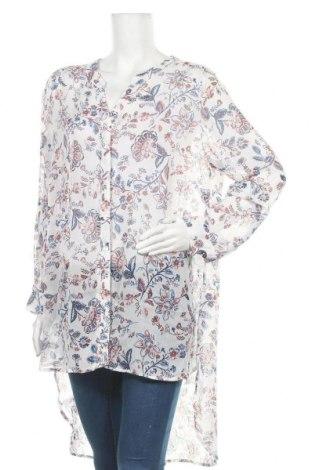 Γυναικείο πουκάμισο Rivers, Μέγεθος XL, Χρώμα Πολύχρωμο, Πολυεστέρας, Τιμή 13,64€