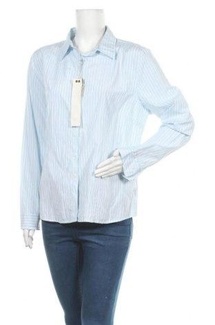 Γυναικείο πουκάμισο Rivers, Μέγεθος XL, Χρώμα Μπλέ, Πολυεστέρας, βαμβάκι, Τιμή 12,34€